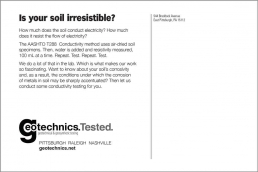 Is your soil irresistible? Geotechnical Engineering