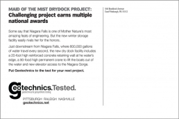 Challenging project earns multiple national awards