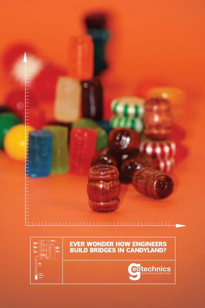 Ever wonder how engineers build biodges in candyland?