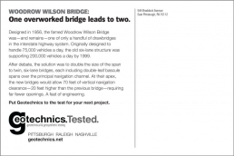 One overworked bridge leads to two.