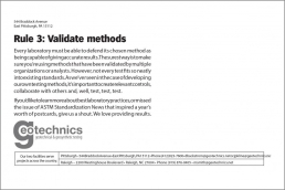 Rule 3: Validate methods
