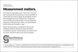 Measurement matters.