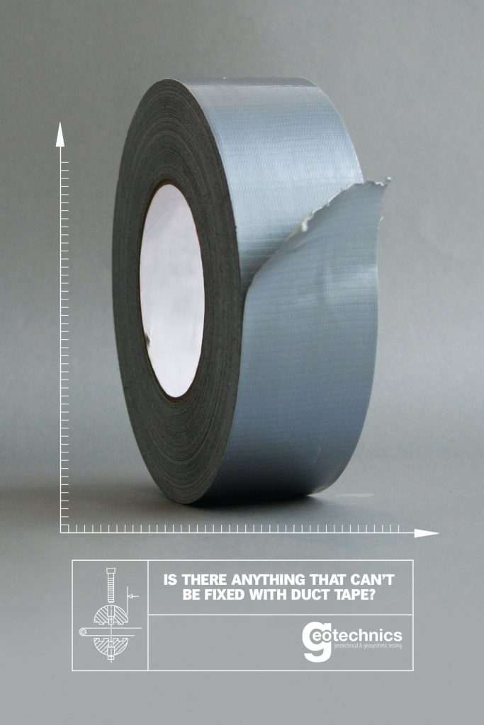 Is there anything that can't be fixed with duct tape?