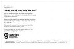 Testing, testing, baby baby, ooh, ooh.
