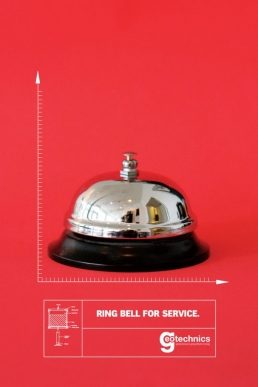 Ring bell for service.