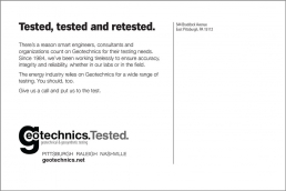 Tested, tested and retested. Geotechnical Engineering
