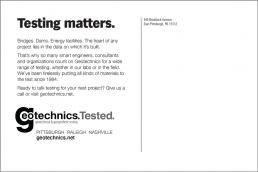 Testing matters.