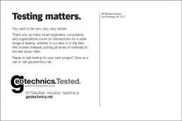 Testing matters