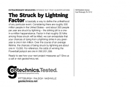 The Struck by Lighting factor