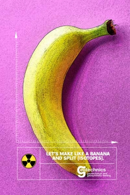 Let's make like a banana and split isotopes