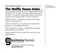 The Waffle House Index